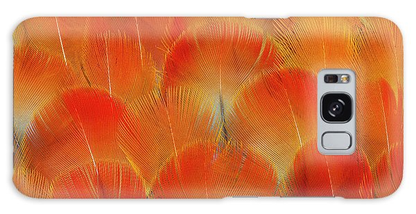 Macaw Galaxy Case - Breast Feathers Of The Camelot Macaw by Darrell Gulin