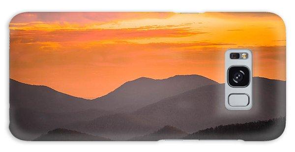 Breathtaking Blue Ridge Sunset 3 Galaxy Case