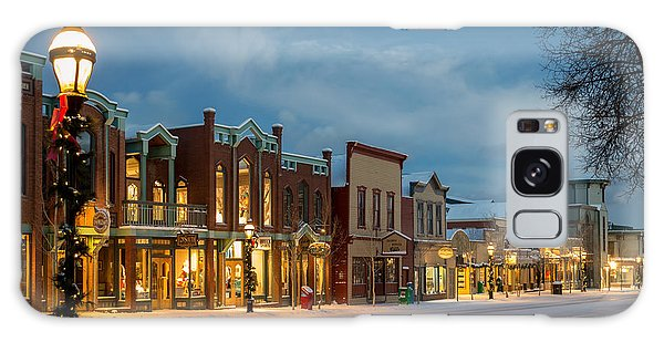 Breckenridge Main Street Galaxy Case by Michael J Bauer