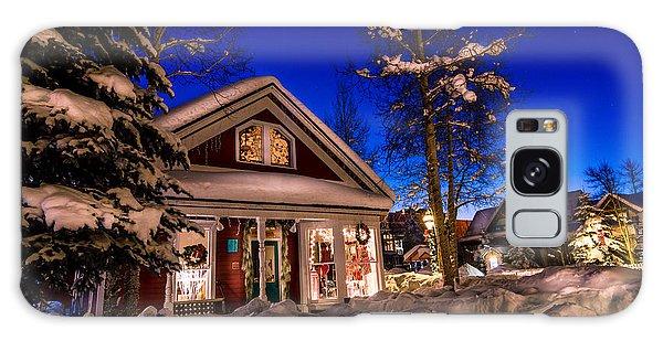 Breckenridge Winter Wonderland Galaxy Case by Michael J Bauer