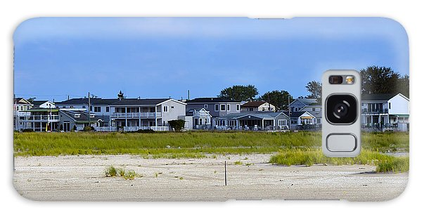 Breezy Point As Seen From Beach August 2012 Galaxy Case by Maureen E Ritter