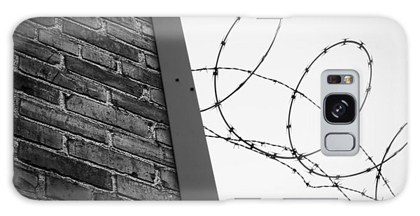 Brick And Wire Galaxy Case