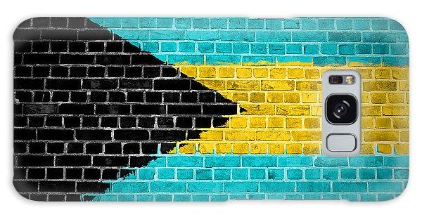 Bahamas Galaxy Case - Brick Wall Bahamas by Antony McAulay