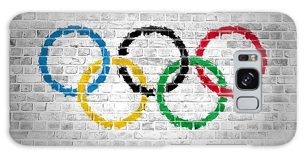 Brick Wall Olympic Movement Galaxy Case