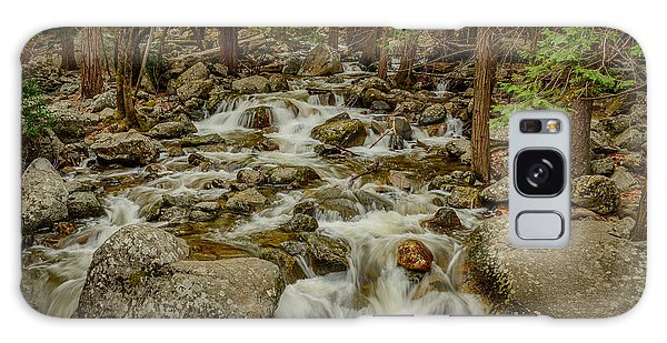 Bridalveil Creek In Yosemite Galaxy Case by Terry Garvin