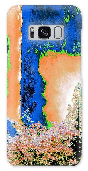Bridalveil Fall Abstract Galaxy Case