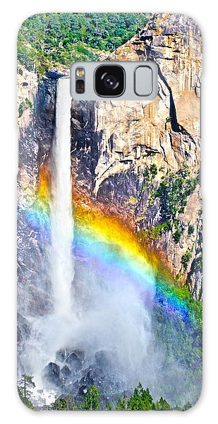 Bridalveil Fall In A Peacock's Plumage Galaxy Case