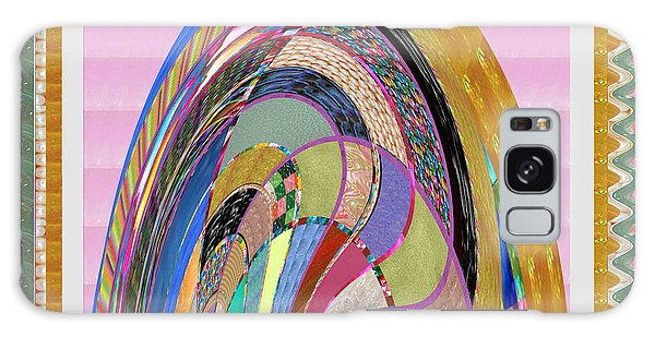 Bride In Layers Of Veils Accidental Discovery From Graphic Abstracts Made From Crystal Healing Stone Galaxy Case by Navin Joshi