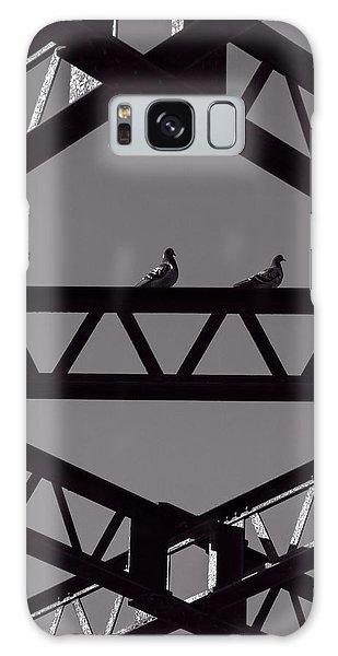 Pigeon Galaxy S8 Case - Bridge Abstract by Bob Orsillo