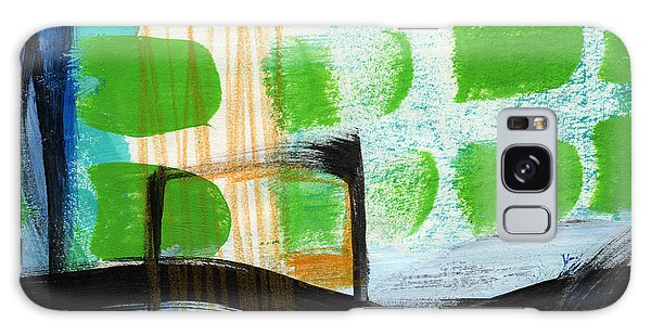 Abstract Landscape Galaxy Case - Bridge- Abstract Landscape by Linda Woods