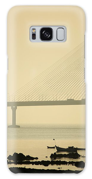 Bridge And Rocks Galaxy Case