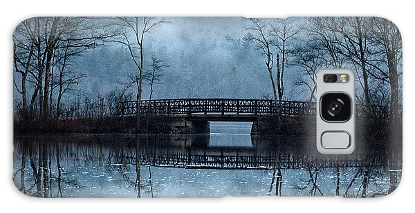 Bridge At Chocorua Galaxy Case by Sharon Seaward