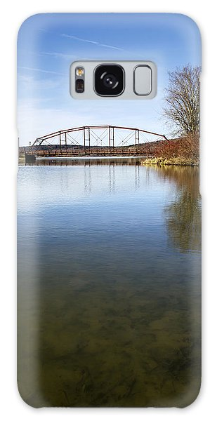 Galaxy Case featuring the photograph Bridge At Upper Lisle by Christina Rollo