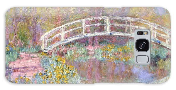 Architecture Galaxy Case - Bridge In Monet's Garden by Claude Monet