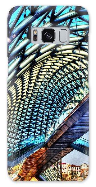 Bridge In The Air Galaxy Case by Yury Bashkin