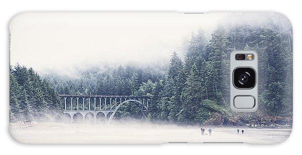 Bridge In The Mist  Galaxy Case