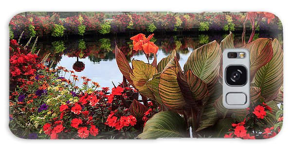 Bridge Of Flowers Galaxy Case by Robert Pilkington