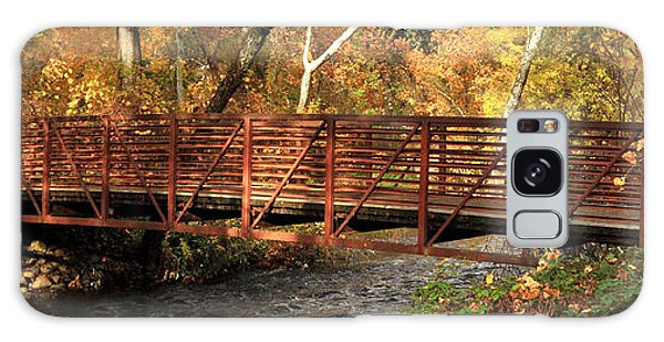 Bridge On Big Chico Creek Galaxy Case