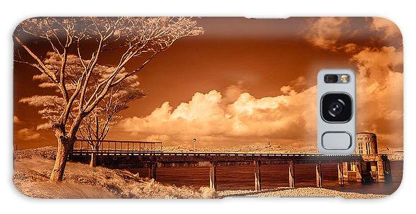 Bridge On The Lake Galaxy Case
