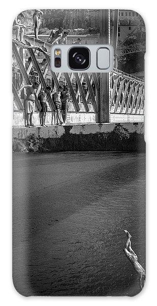 Jump Galaxy Case - Bridge Over Douro - Luis I by Fernando Jorge Gon?alves
