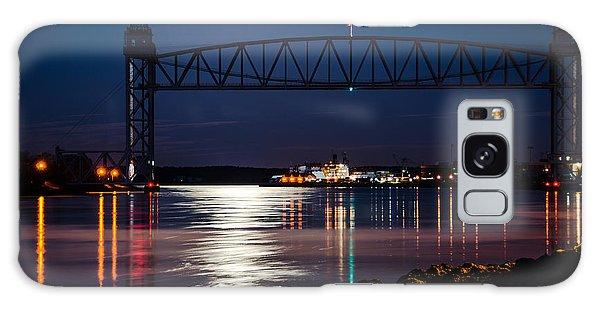 Bridge Over Moonlit Water Galaxy Case
