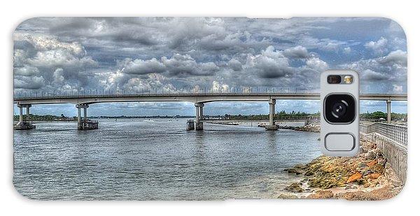 Bridge Over Sebastian Inlet Galaxy Case by Timothy Lowry
