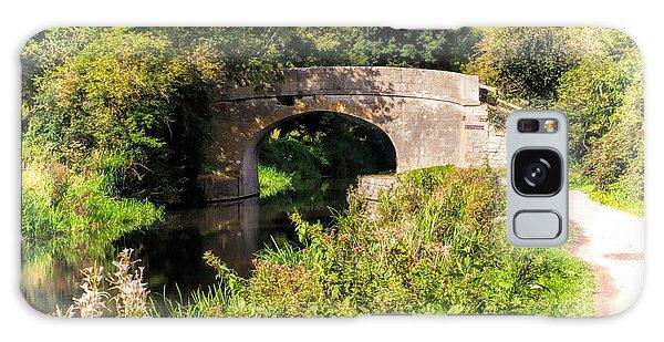 Bridge Over Still Waters Galaxy Case
