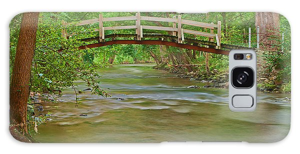 Bridge Over Valley Creek Galaxy Case by Michael Porchik