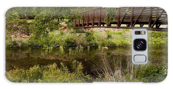 Bridge Over Wetlands Galaxy Case