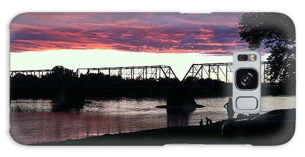 Bridge Sunset In June Galaxy Case