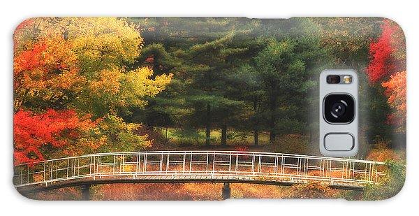 Bridge To Autumn Galaxy Case
