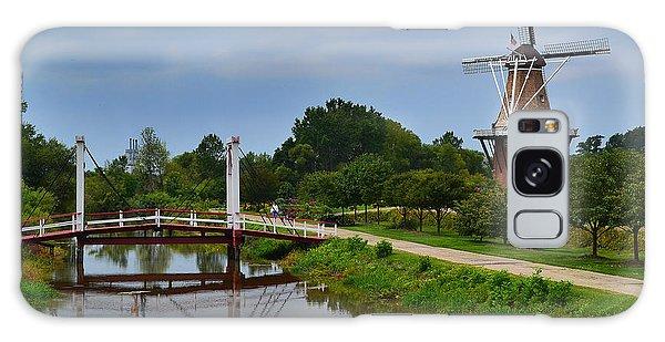 Bridge To Holland Windmill Galaxy Case