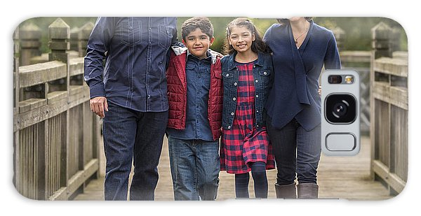 Bridge Walk - Group Hug Galaxy Case