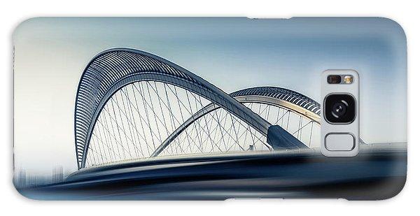 Long Exposure Galaxy Case - Bridge#1 by Baidongyun
