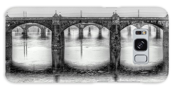 Galaxy Case featuring the photograph Bridging The Susquehanna  by JC Findley