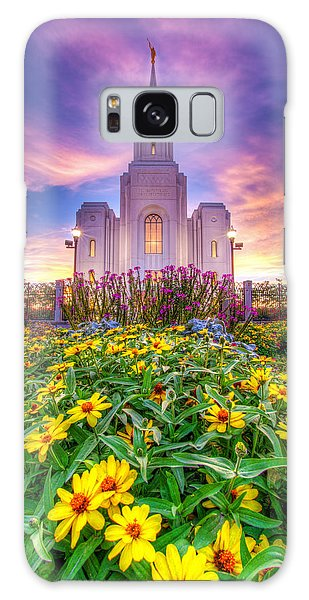 Brigham City Temple Galaxy Case