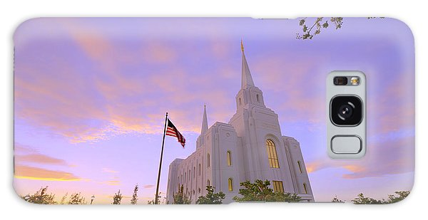 Temple Galaxy Case - Brigham City Temple I by Chad Dutson