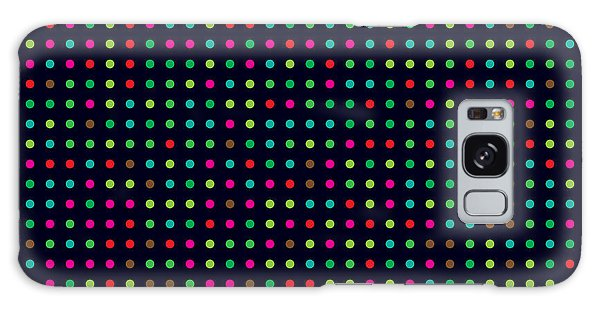 Bright Galaxy Case - Bright Colorful Dots On A Dark by Leone v