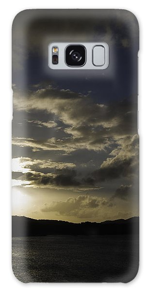 Galaxy Case featuring the photograph Bright Horizon by Judy Hall-Folde