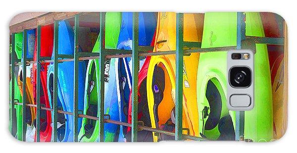 Bright Kayak Galaxy Case