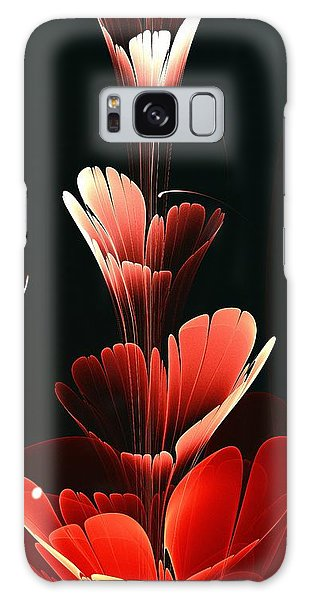 Bright Red Galaxy Case