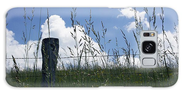 Bright Skies In Cades Cove Galaxy Case