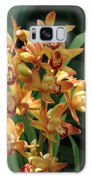 Bright Summer Flowers Galaxy Case by Bill Woodstock