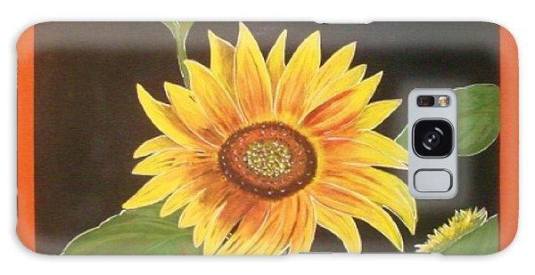 Bright Sunflower Galaxy Case