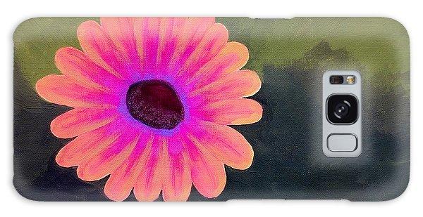 Brighten My Day Galaxy Case by Elizabeth Sullivan