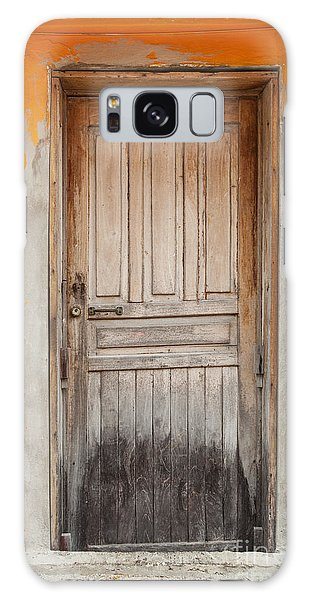 Brightly Colored Door And Wall Galaxy Case