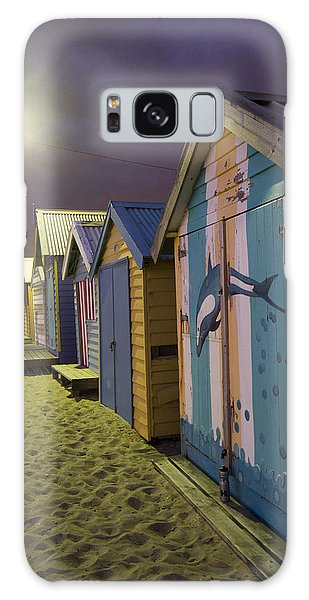 Brighton Beach Huts Melbourne Galaxy Case by Serene Maisey