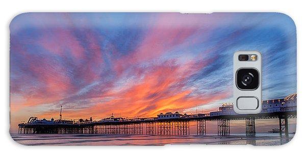 Brighton Sunset Galaxy Case
