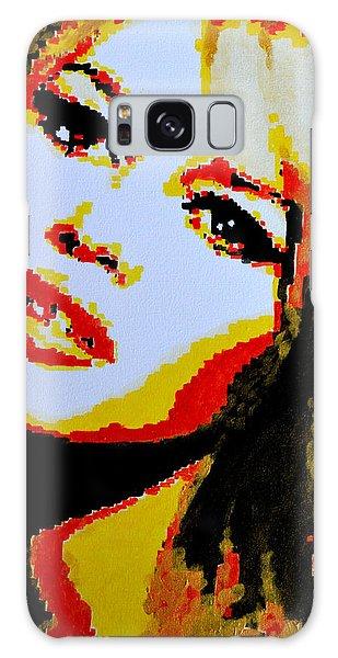 Brigitte Bardot Galaxy Case by Victor Minca