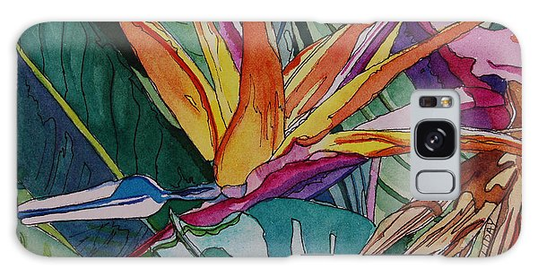 Brillant Bird Of Paradise Galaxy Case